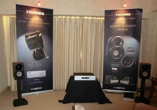 Show-room Haniwa Audio на CES 2012 в отеле Venetian